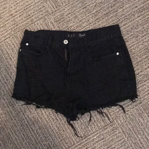 Pants - Black jean shorts!!!